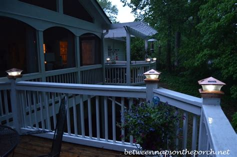 Solar Lights For Decks Ideas by Preparing The Porch And Decks For Painting