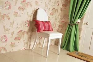 papier peint farmville ivoire clair violet bruyere With chambre bébé design avec fleur de bach bruyere