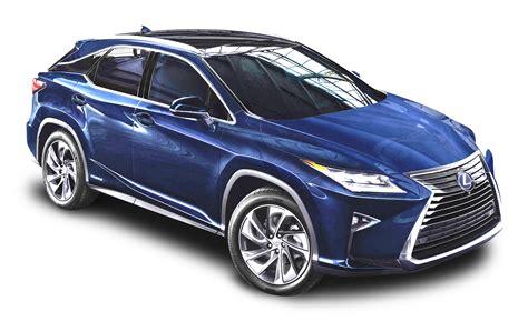 Lexus Rx Backgrounds by Lexus Rx 450h Blue Car Png Image Purepng Free