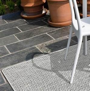 terrassen und balkon teppiche bei teppichscheune gunstig With balkon teppich mit tapete flieder grau