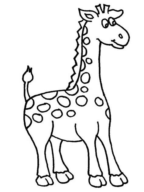 giraffe cartoon picture   clip art