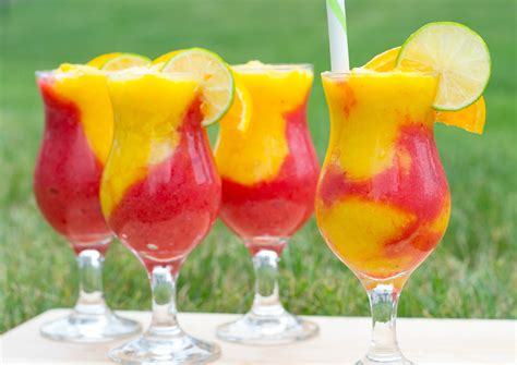 amazing frozen strawberry mango daiquiri recipe
