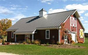 What are pole barn homes how can i build one metal for Barn roofing cost
