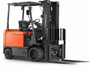 Large Electric Rider Forklift