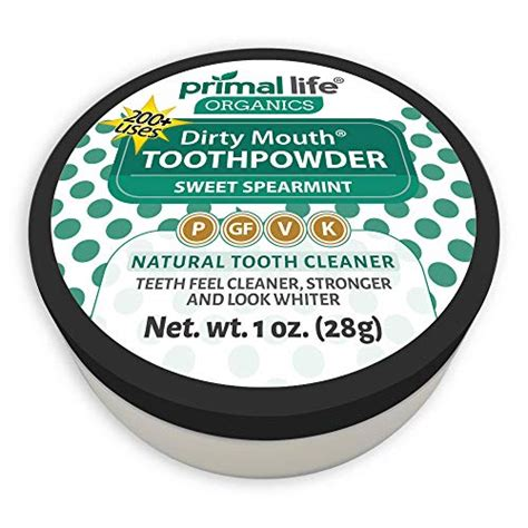 dirty mouth tooth powder  teeth whitening toothpaste