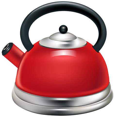 red kettle png clipart  web clipart