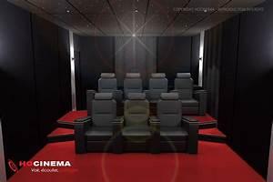 Cinema A La Maison : le concept 07a une salle cin ma maison r alis e sur mesure ~ Louise-bijoux.com Idées de Décoration