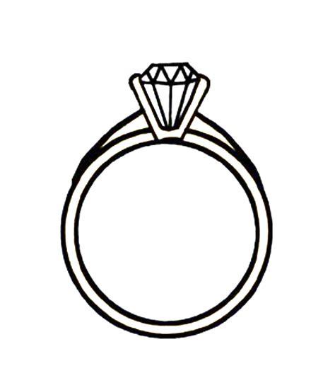 wedding ring cartoon clipart best