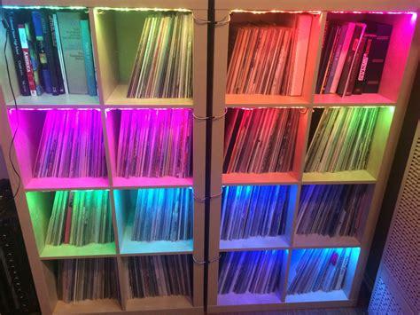 raspberry pi light show recordshelf vinyl selection lightshow spectacular
