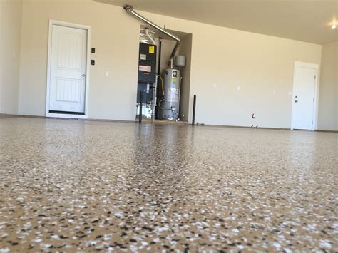 Epoxy Floor Coating A Garage In Eagle Idaho