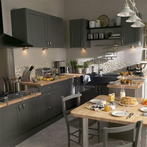 cuisine grise leroy merlin quelle couleur pour votre cuisine équipée cuisine