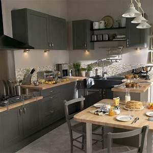 Quelle couleur pour votre cuisine equipee cuisine for Idee deco cuisine avec cuisine aménagée ou Équipée