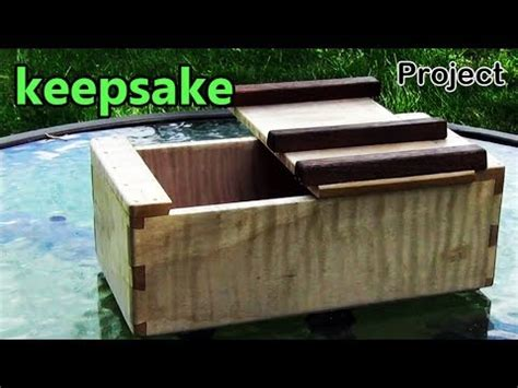 project  keepsake box   lid design borrowed   japanese traditional woodworking