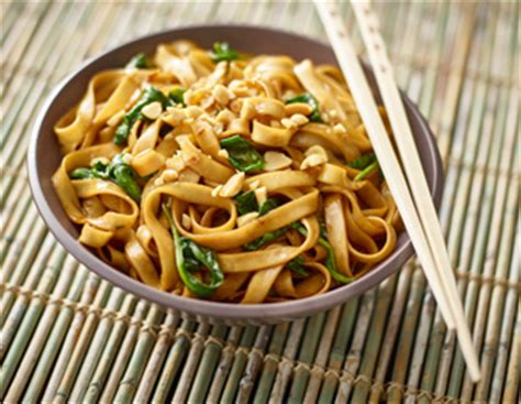 wide lo mein noodles kame