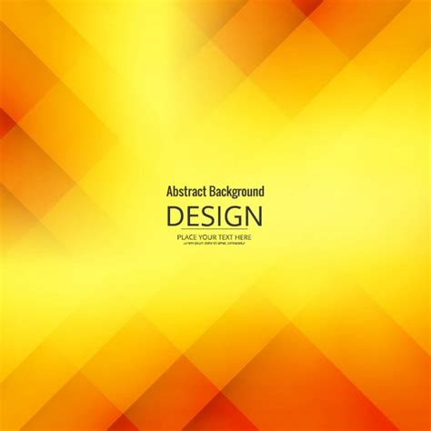 modern yellow geometric background vector
