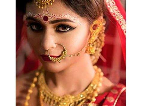 types of bridal naths to flaunt at your wedding boldsky com