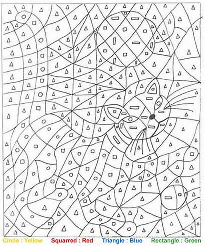 Number Coloring Printables Difficult Adult