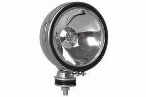 100 Watt Halogen Off Road Lights - Chrome - Stud Mount