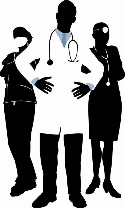 Doctor Clipart Doctors Transparent Physician Silhouette Nurses