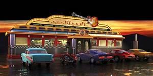 American Diner Wallpaper : american diner wallpaper murals xldrc home decorating ~ Orissabook.com Haus und Dekorationen
