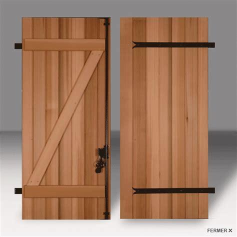 porte de garage battant bois obasinc