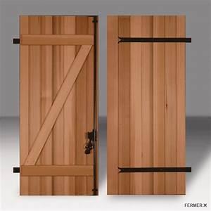 Volet Pliant Bois : lallemant fermetures volets battants frise bois ~ Melissatoandfro.com Idées de Décoration