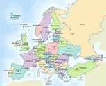 Europe Map - Full size | Gifex