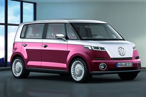 new volkswagen bus electric new vw bus concept coming to ces electric power for