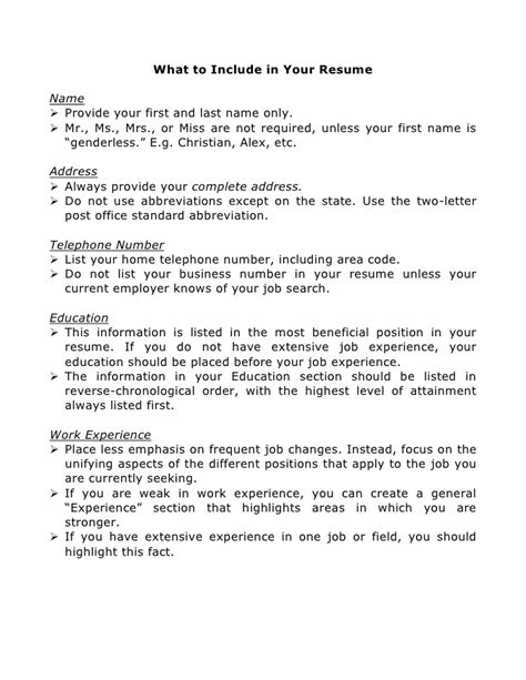 writing your resume and cover letter