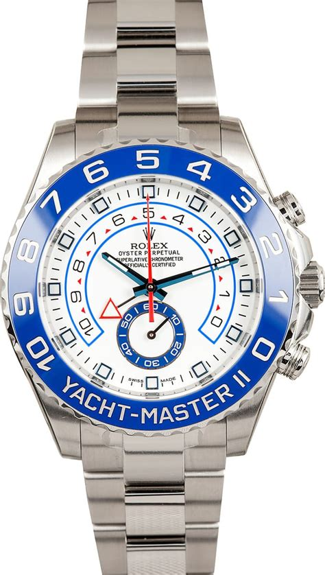 rolex yachtmaster ii ref   bobs watches