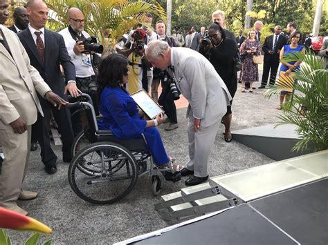 st vincent   grenadines disability campaigner