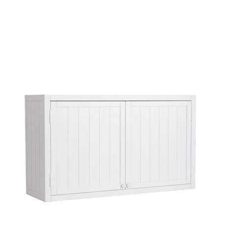 meuble de cuisine 120 cm meuble haut de cuisine en bois blanc l 120 cm newport maisons du monde