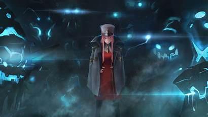 Zero Darling Franxx Dark Uniform Anime Background