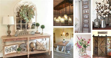 Home Decor Ideas For by 50 Best Farmhouse Furniture And Decor Ideas And Designs