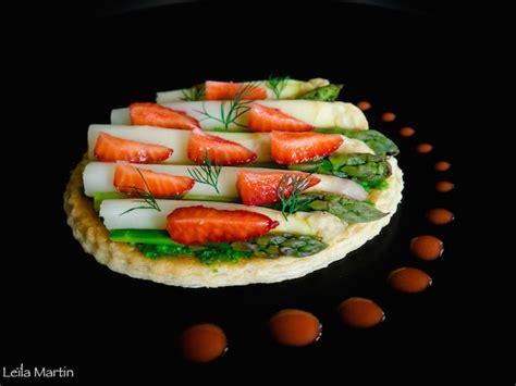 tarte asperges d 39 alsace fraises et fines herbes je