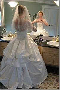 practical for the bride design enhanced french bustle on With how to make a bustle on a wedding dress