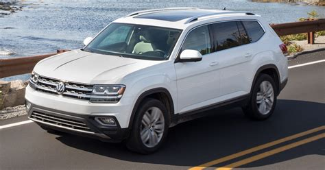 Vw Atlas Usa by Review Volkswagen Atlas Carries Its Weight Well