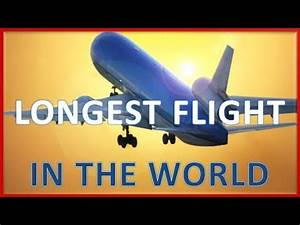 Longest flight route in the world - YouTube