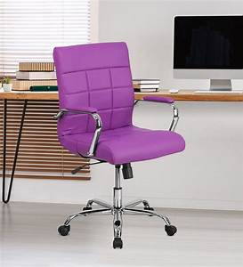 Buy, Eva, Executive, Office, Chair, In, Purple, Colour, By, Furniturstation, Online