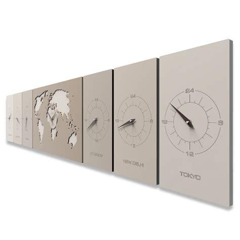 les heures de bureau cosmo horloge murale de bureau avec les fuseaux horaires