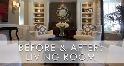 stylish room decor stylish transitional living room before and after robeson design