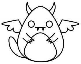 How to Draw Easy Cute Monsters