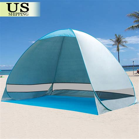 beach sun shade tent grey camping fishing garden beach shelter canopy tent uv active