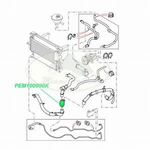 land rover thermostat defender discovery 2 ii pem100990 With range rover coolant