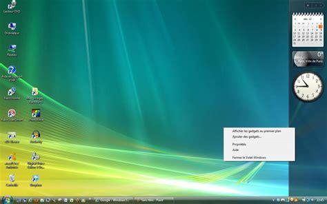 gadgets du bureau module 2 le système d 39 exploitation windows vista 2 2