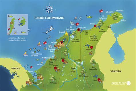 Caribe: Sol y playa Karibik: Sonne und Strand spanisch