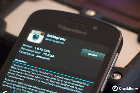 how to install an android app apk to a blackberry crackberry