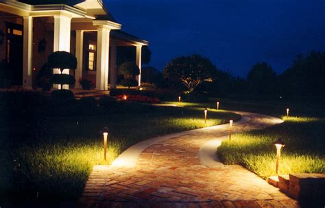 landscape lighting lawnco landscaping