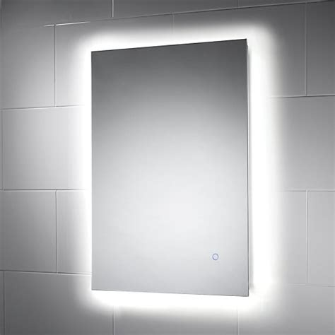 wickes meribel touch sensor backlit led mirror wickescouk