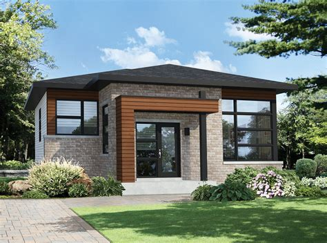 modern 1 house plans two bedroom modern house plan 80792pm contemporary